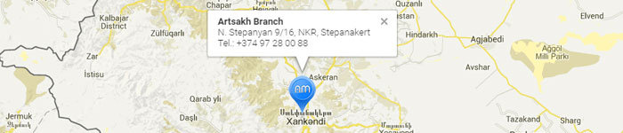 Map Artsakh Branch